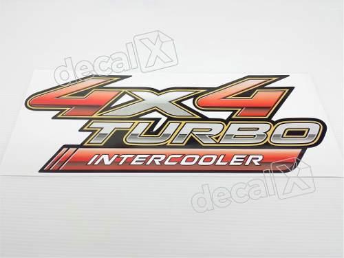 Adesivo Toyota Hilux 4x4 Turbo Intercooler 2009 A 2012