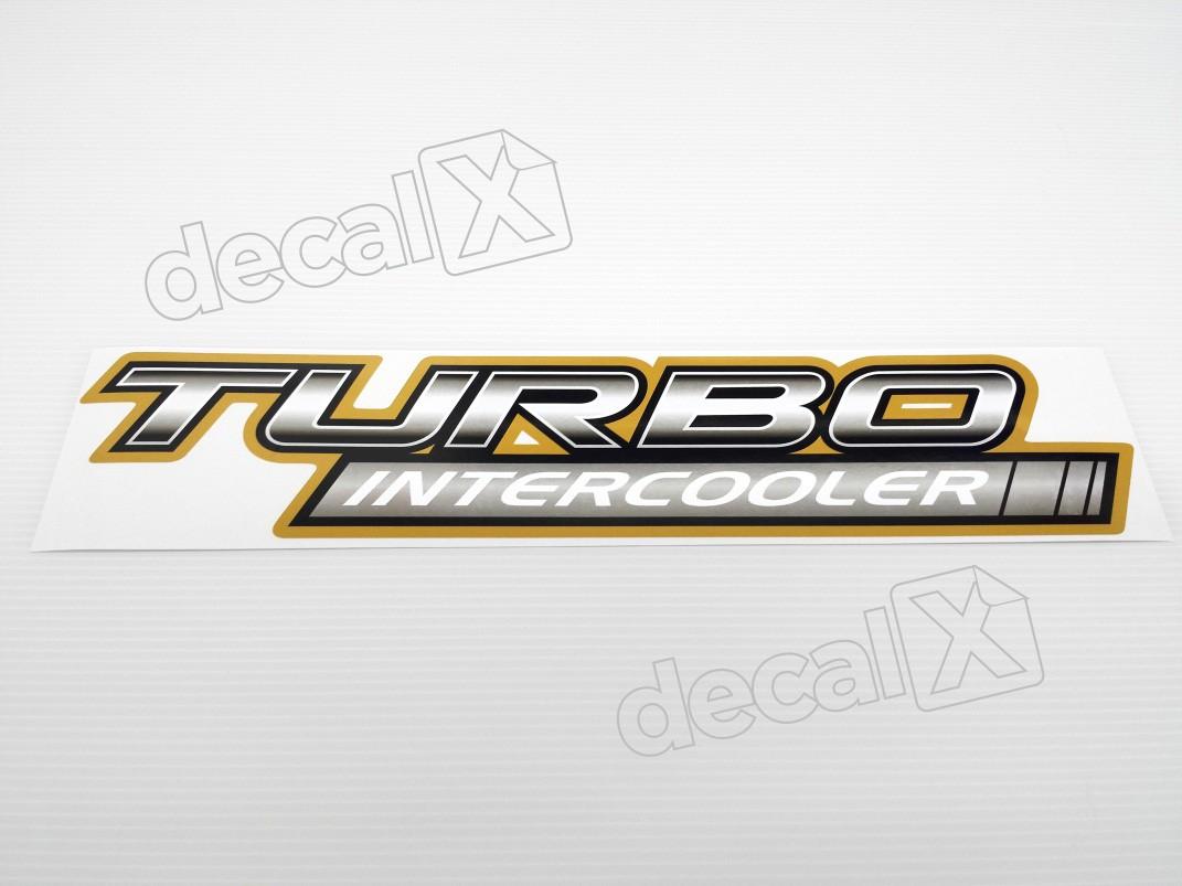 Adesivo Toyota Hilux Turbo Intercooler 2006 - Decalx