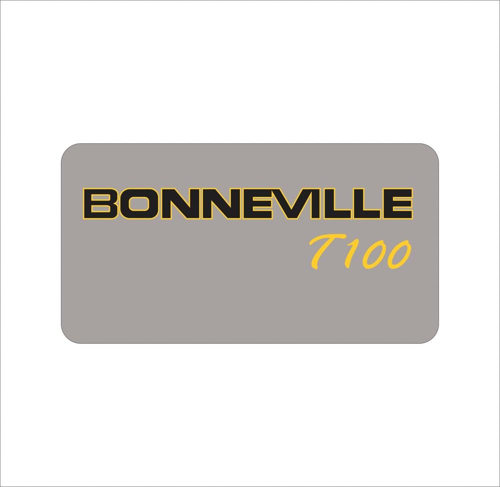 Adesivo Triumph Bonneville T100 Bn002