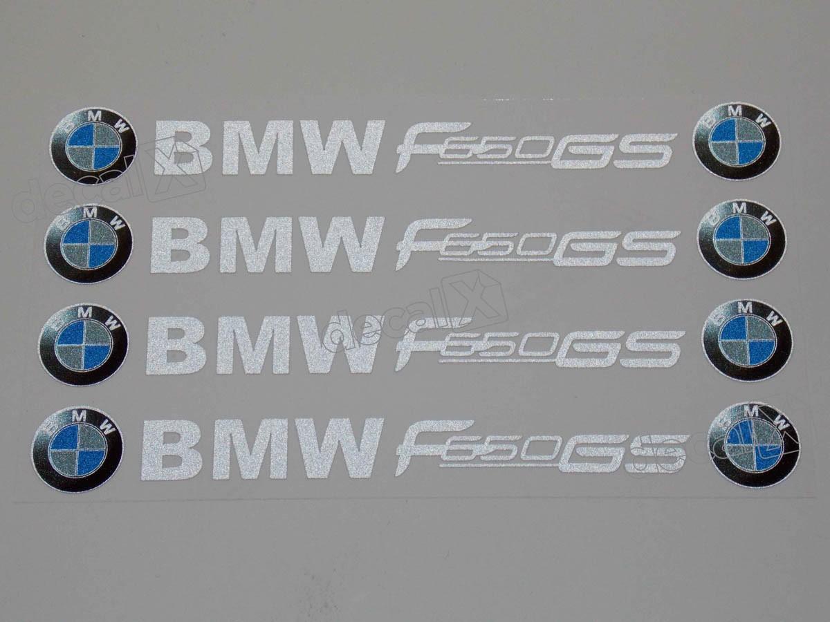 Adesivos Centro Roda Refletivo Moto Bmw F650gs Rd1 Decalx