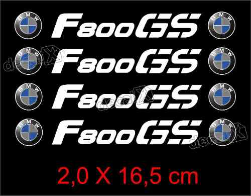 Adesivos Centro Roda Refletivo Moto Bmw F800gs Rd7 Decalx