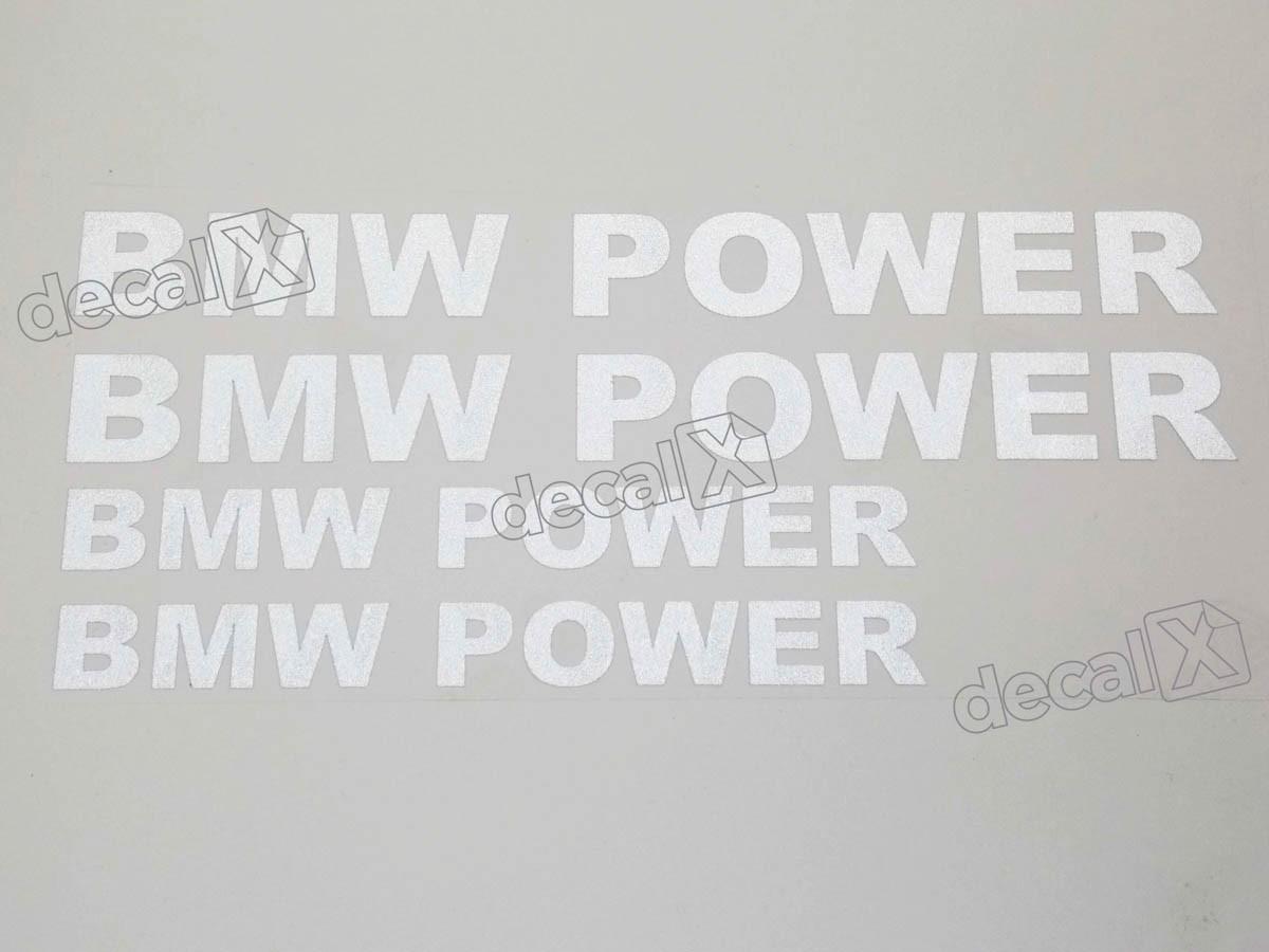 Adesivos Centro Roda Refletivo Moto Bmw Power Rd6 Decalx