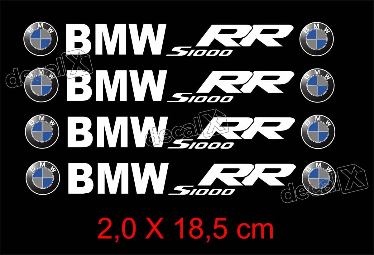 Adesivos Centro Roda Refletivo Moto Bmw S1000rr Rd11 Decalx