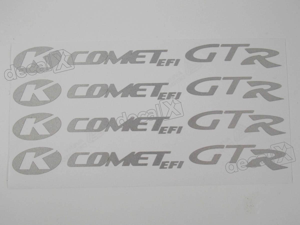 Adesivos Centro Roda Refletivo Moto Kasinski Comet Efi Gtr
