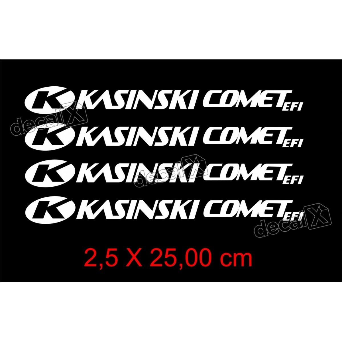 Adesivos Centro Roda Refletivo Moto Kasinski Comet Efi Rd3