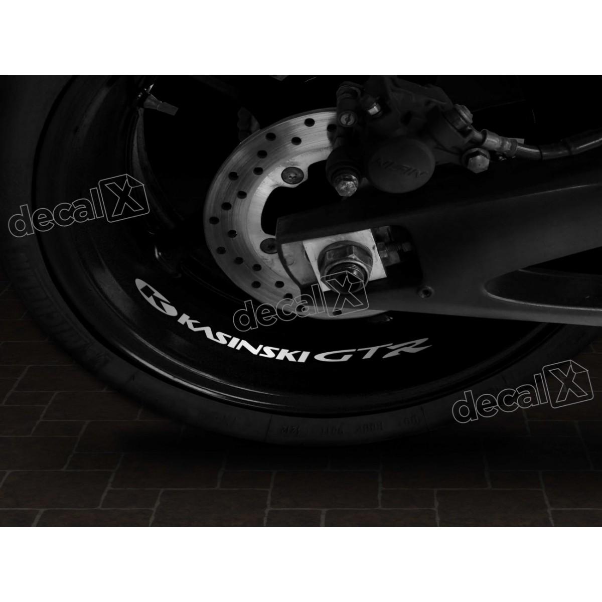 Adesivos Centro Roda Refletivo Moto Kasinski Gtr Rd6