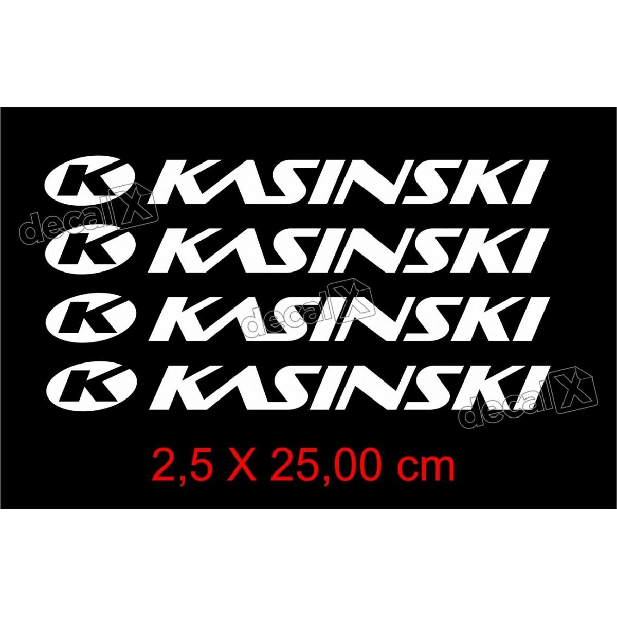 Adesivos Centro Roda Refletivo Moto Kasinski Rd7