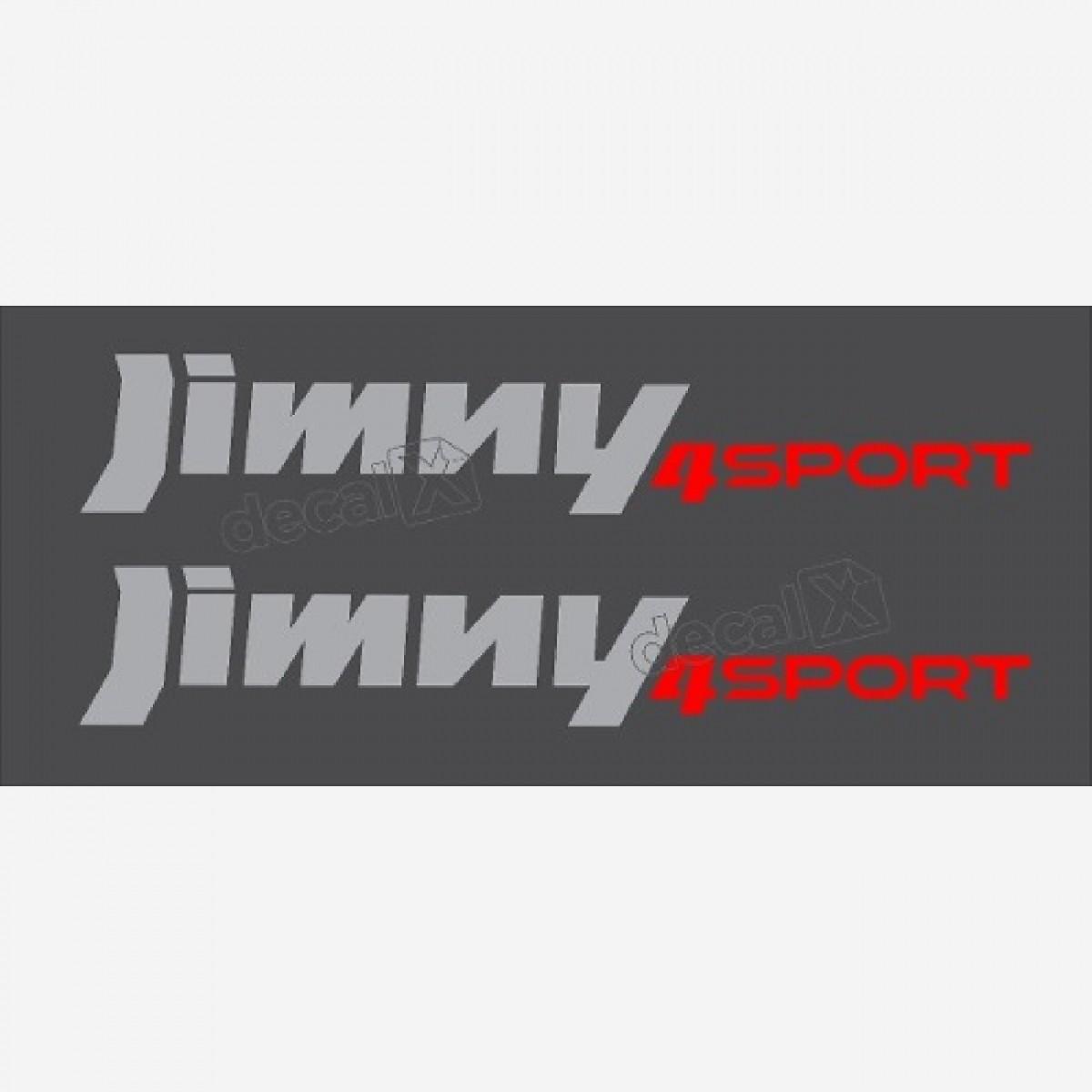 Embelma Adesivo Suzuki Jimny 4sport Par