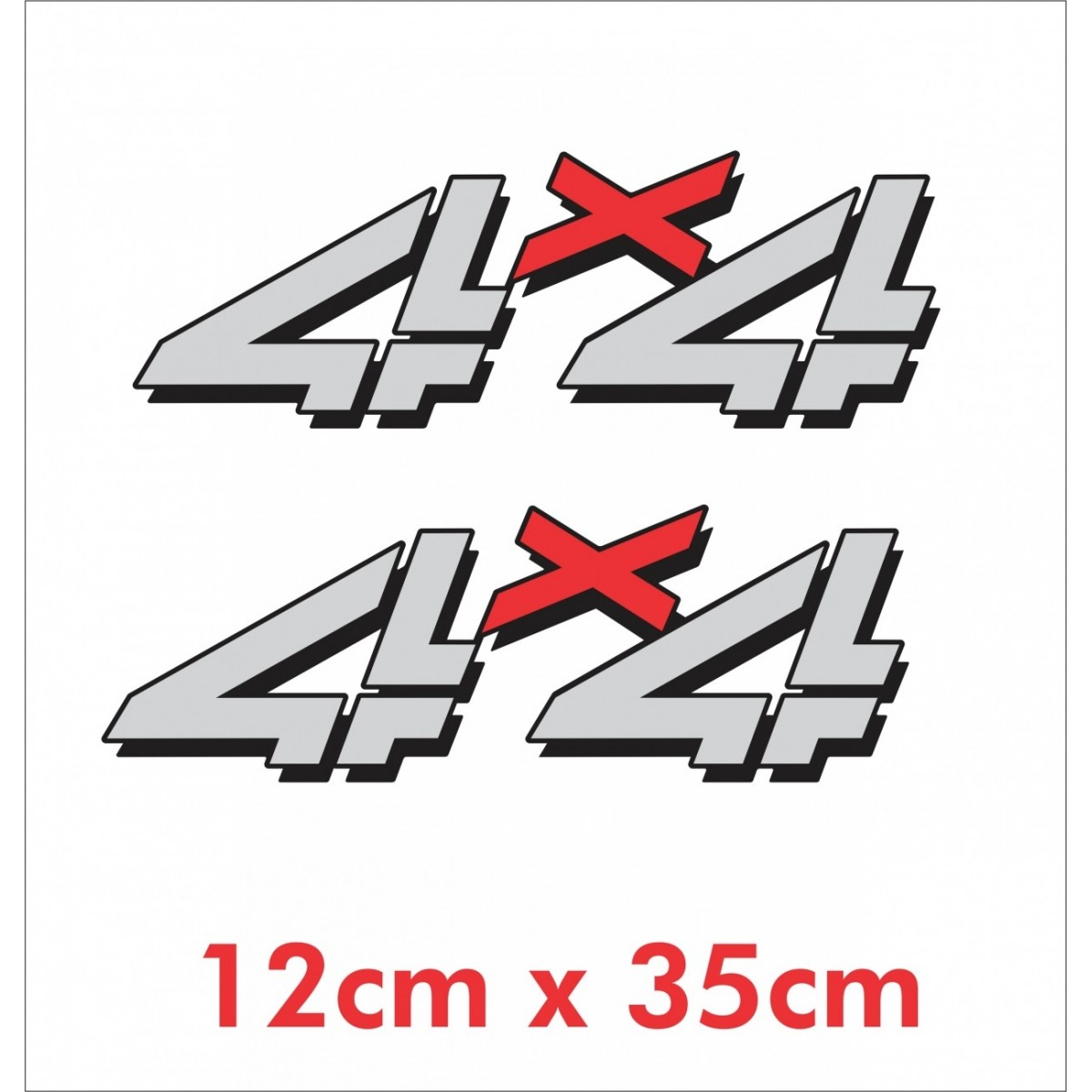 Emblema Adesivo 4x4 Jeep Willys Renegade Cherokee Ad33
