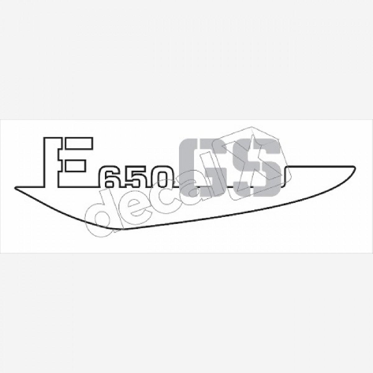 Emblema Adesivo Bmw F650gs Amarela Par Decalx