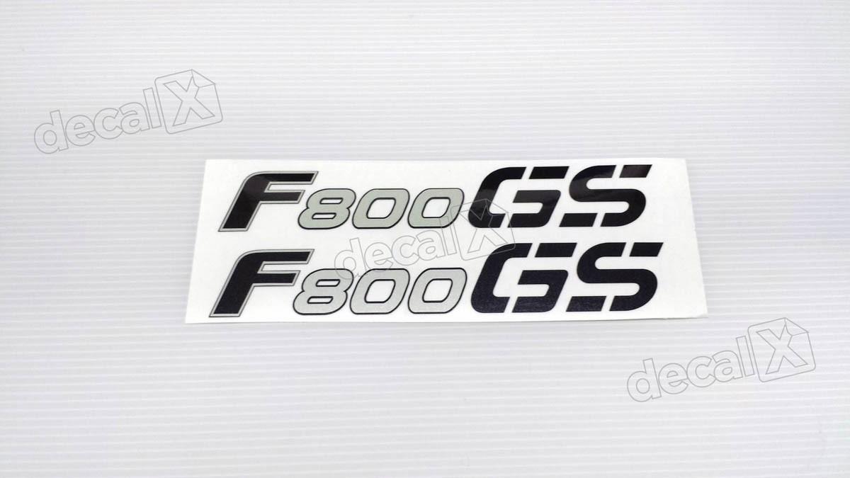 Emblema Adesivo Bmw F800gs 2009 Par Decalx