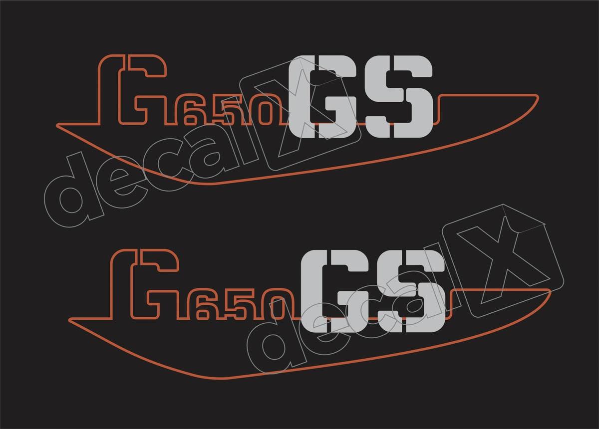 Emblema Adesivo Bmw G650 Gs Preta Par Decalx