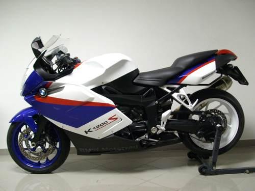Emblema Adesivo Bmw K1200s Branca Par Decalx