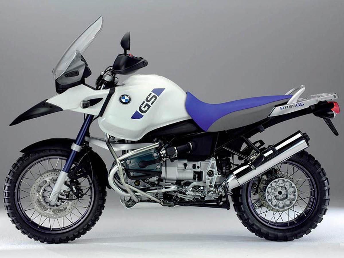 Emblema Adesivo Bmw R1150gs Branca E Azul Par Decalx