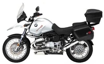 Emblema Adesivo Bmw R1150gs Branca Par Decalx