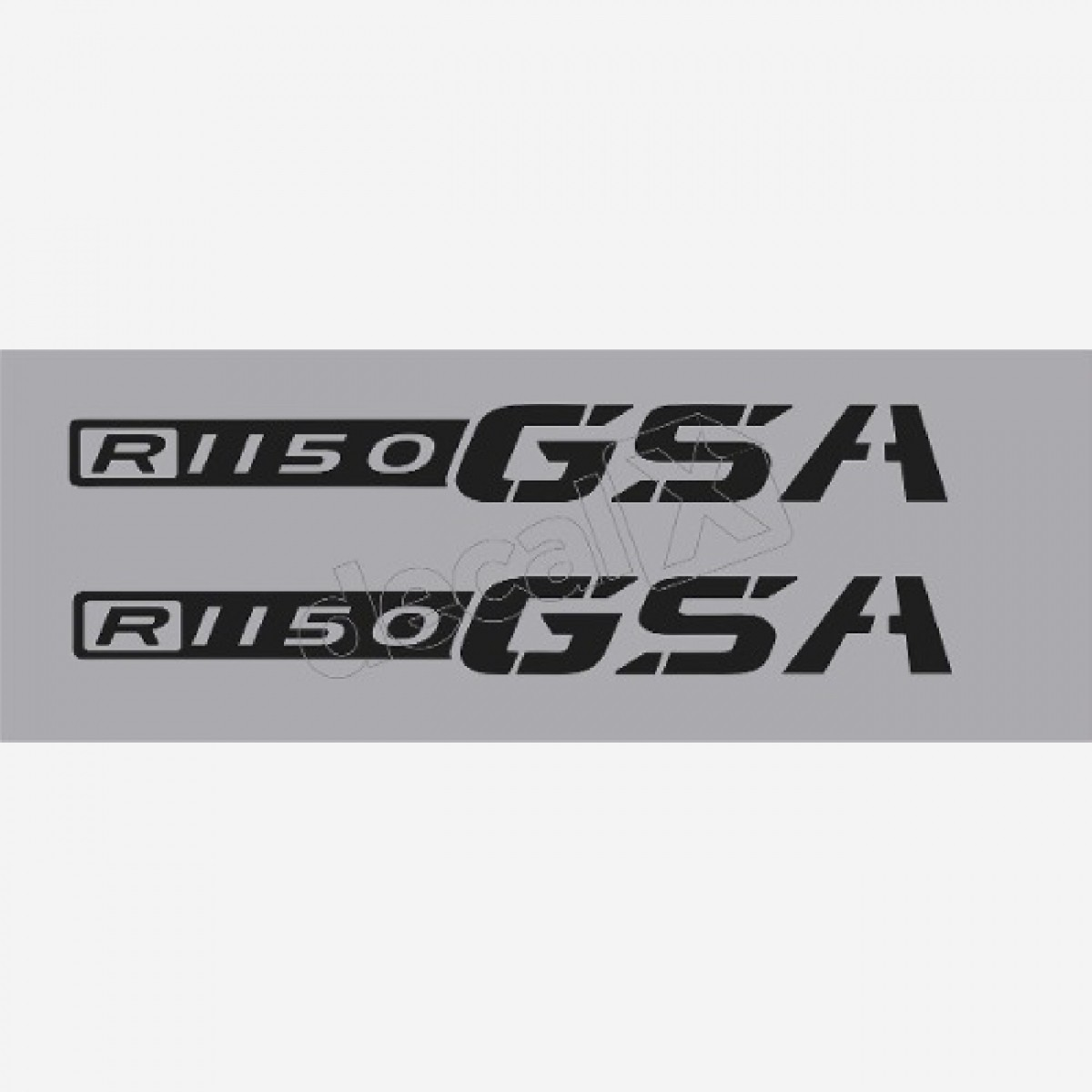 Emblema Adesivo Bmw R1150gsa Par Decalx