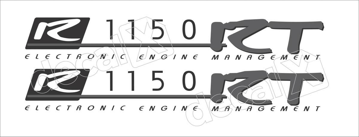 Emblema Adesivo Bmw R1150rt Par Decalx