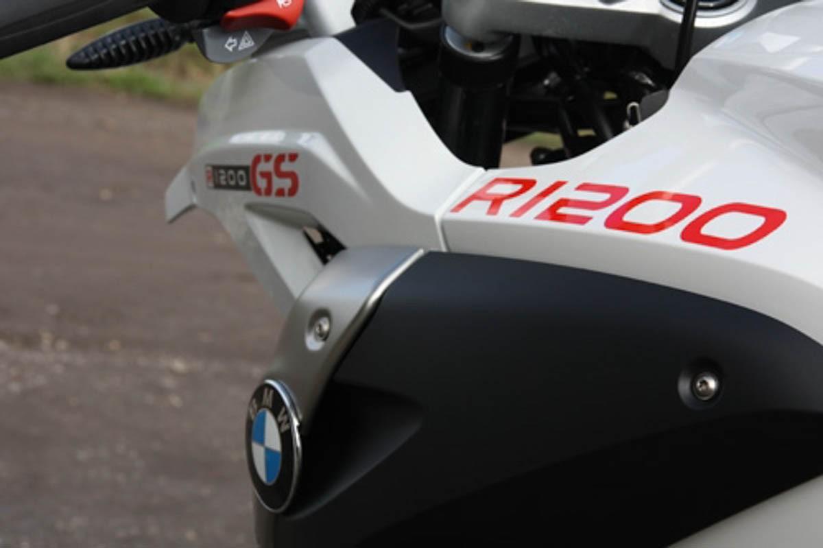 Emblema Adesivo Bmw R1200 Vermelho Decalx