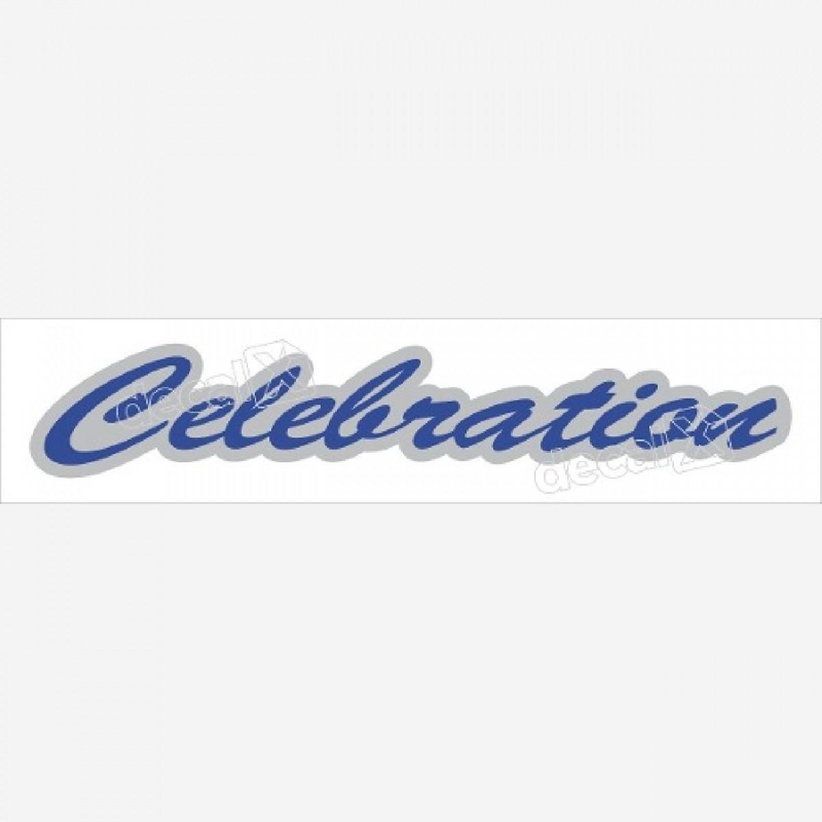 Emblema Adesivo Celebration Fiat Palio Siena Clbrt