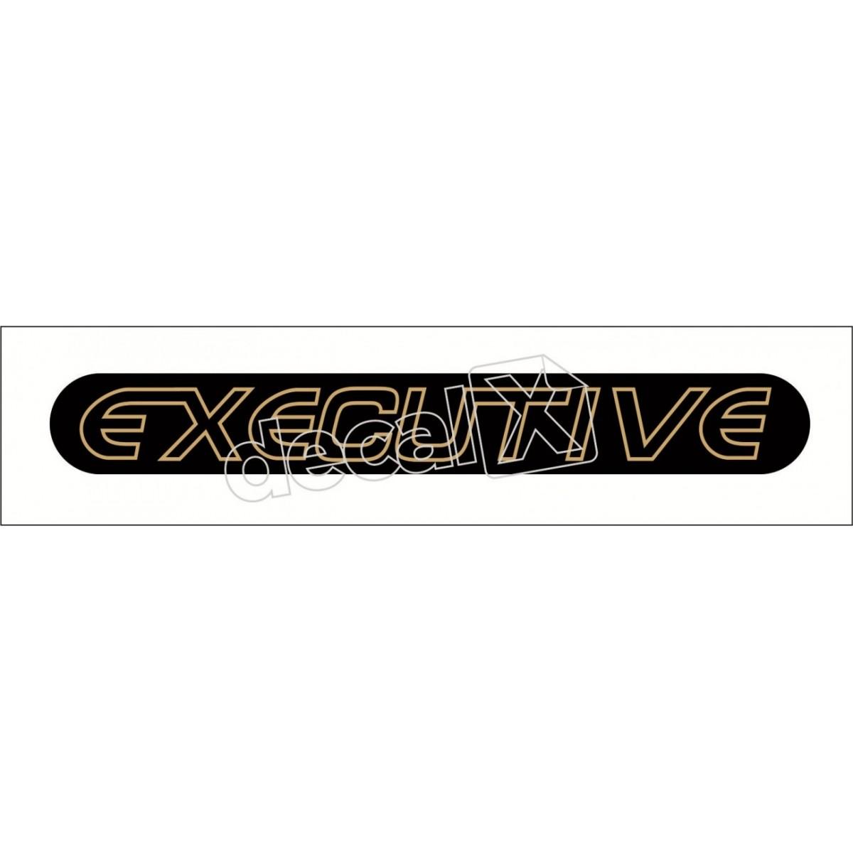 Emblema Adesivo Executive Blazer S10 2001 Resinado Bar010