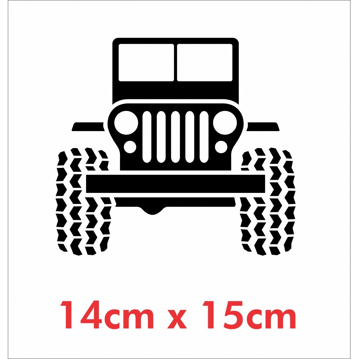 Emblema Adesivo Jeep Willys Renegade Cherokee ad14