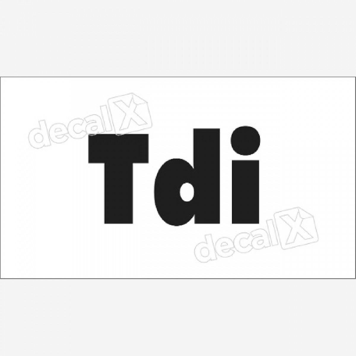 Emblema Adesivo Land Rover Defender Tdi Decalx