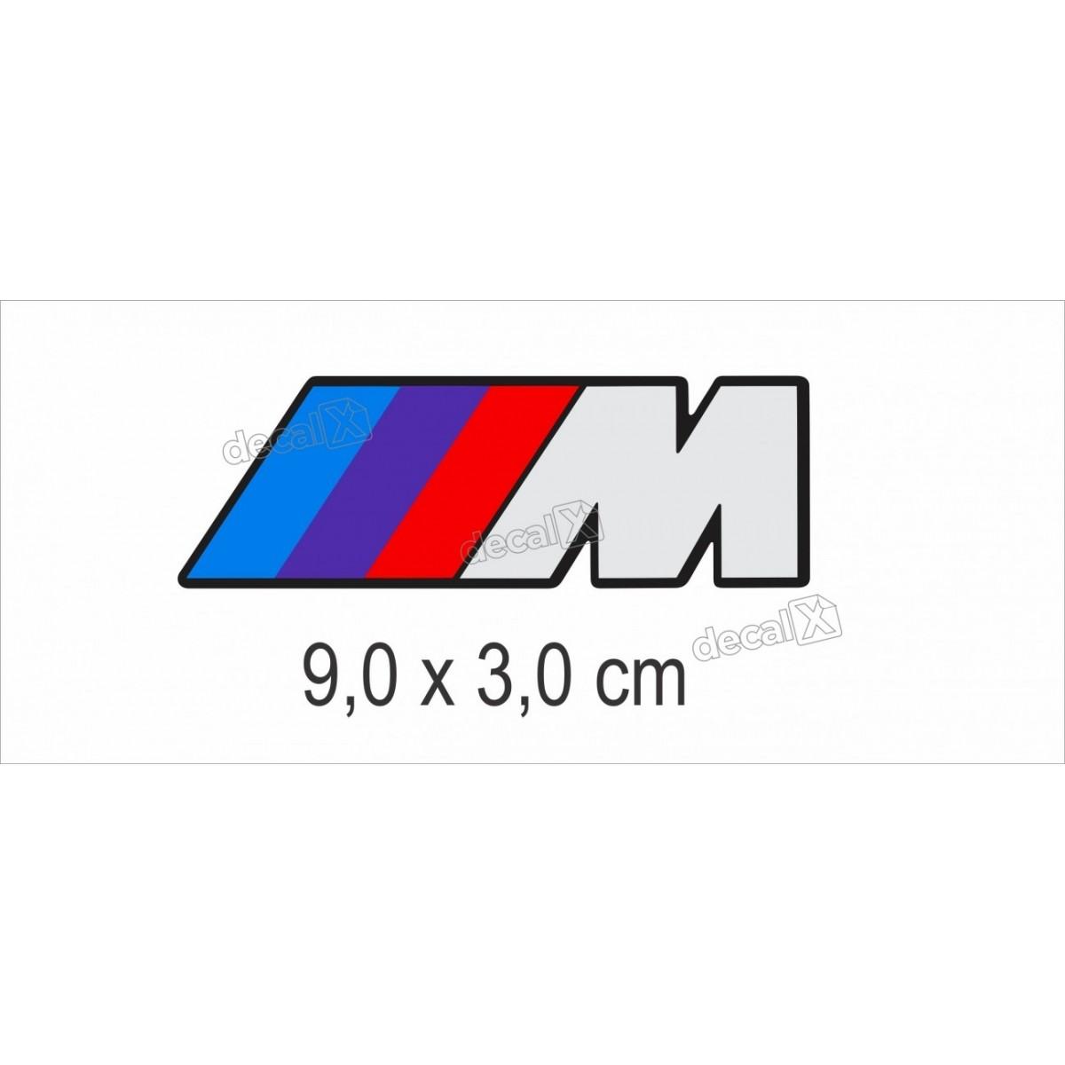Emblema Adesivo Resinado Bmw Decalx