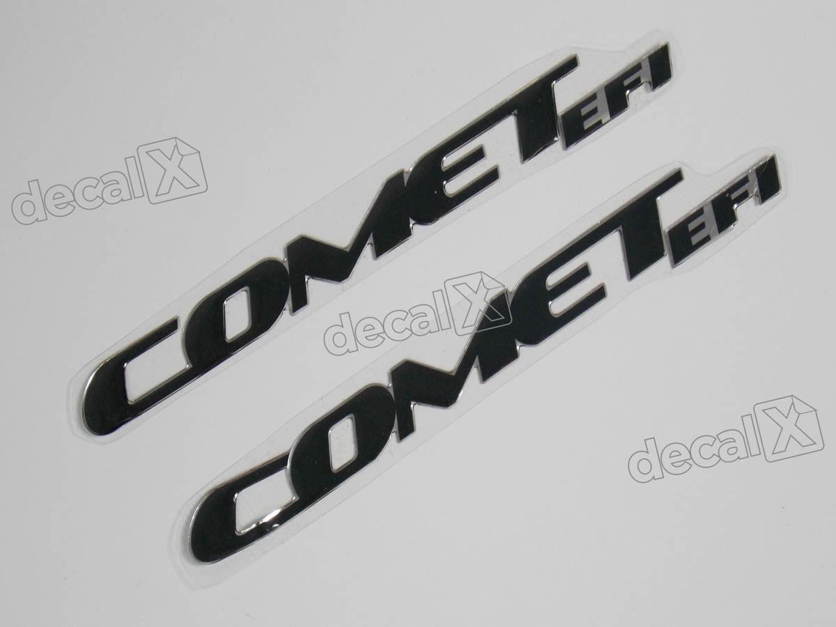 Emblema Adesivo Resinado Kasinski Comet Efi Par Rs16