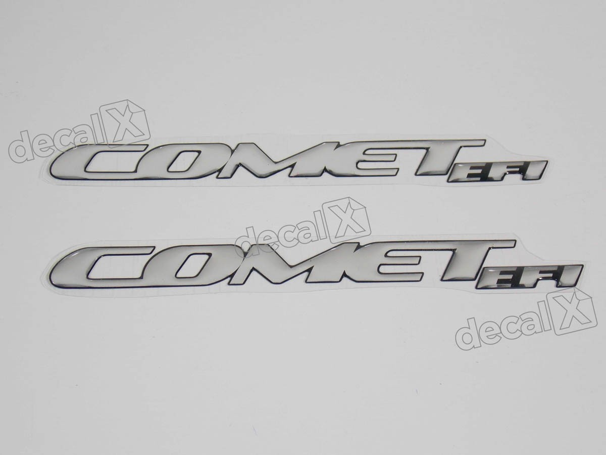 Emblema Adesivo Resinado Kasinski Comet Efi Par Rs17