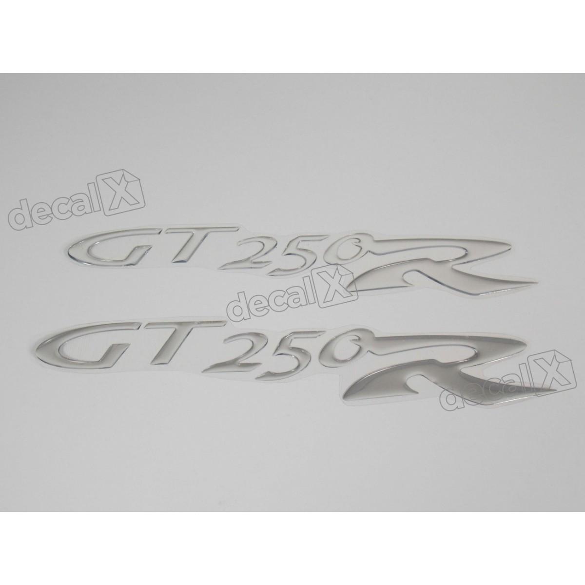 Emblema Adesivo Resinado Kasinski Gt 250r Par