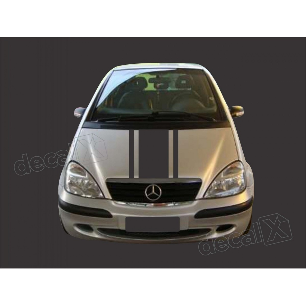 Kit Adesivo Capo, Teto E Mala Mercedes Classe A 3m A4