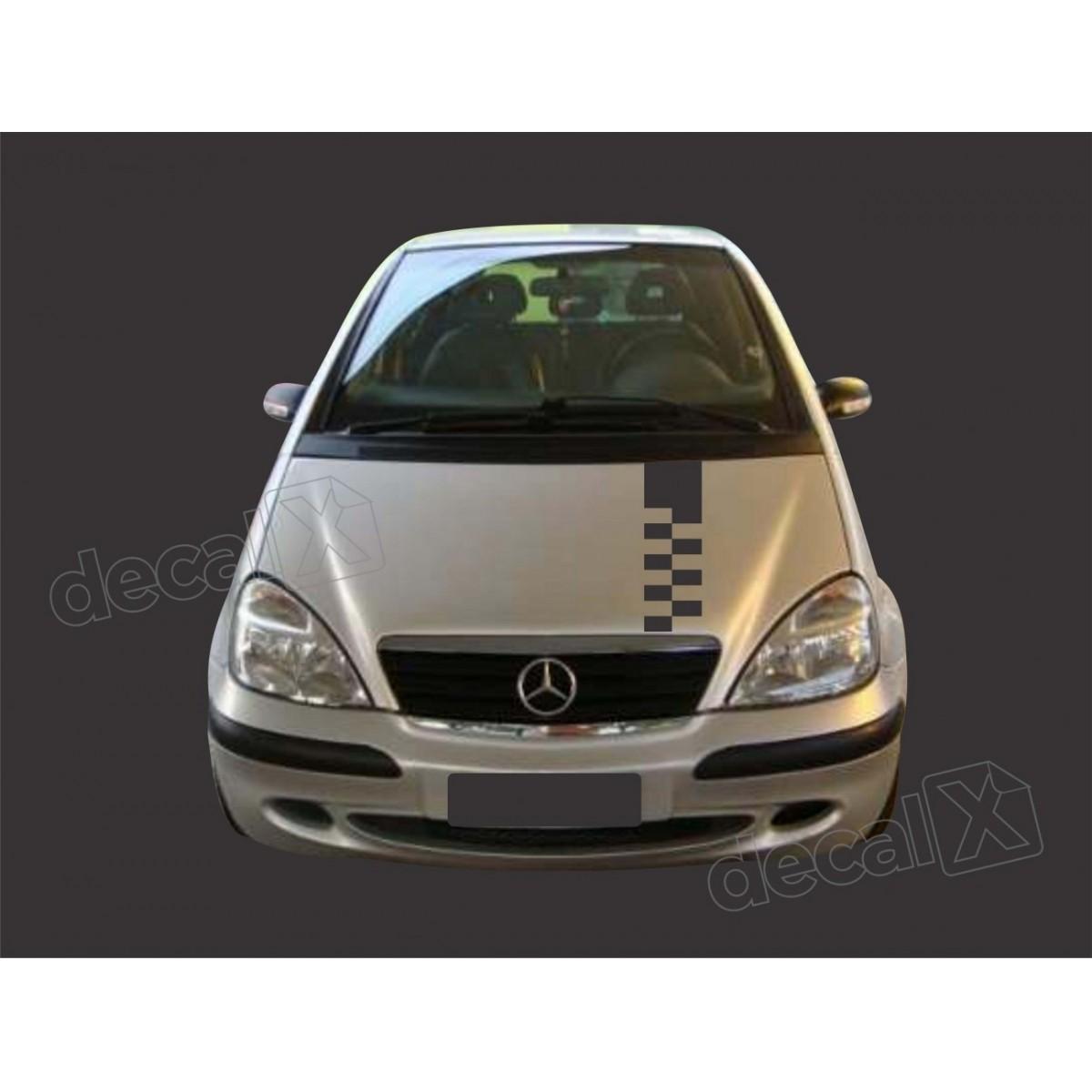 Kit Adesivo Capo, Teto E Mala Mercedes Classe A A1
