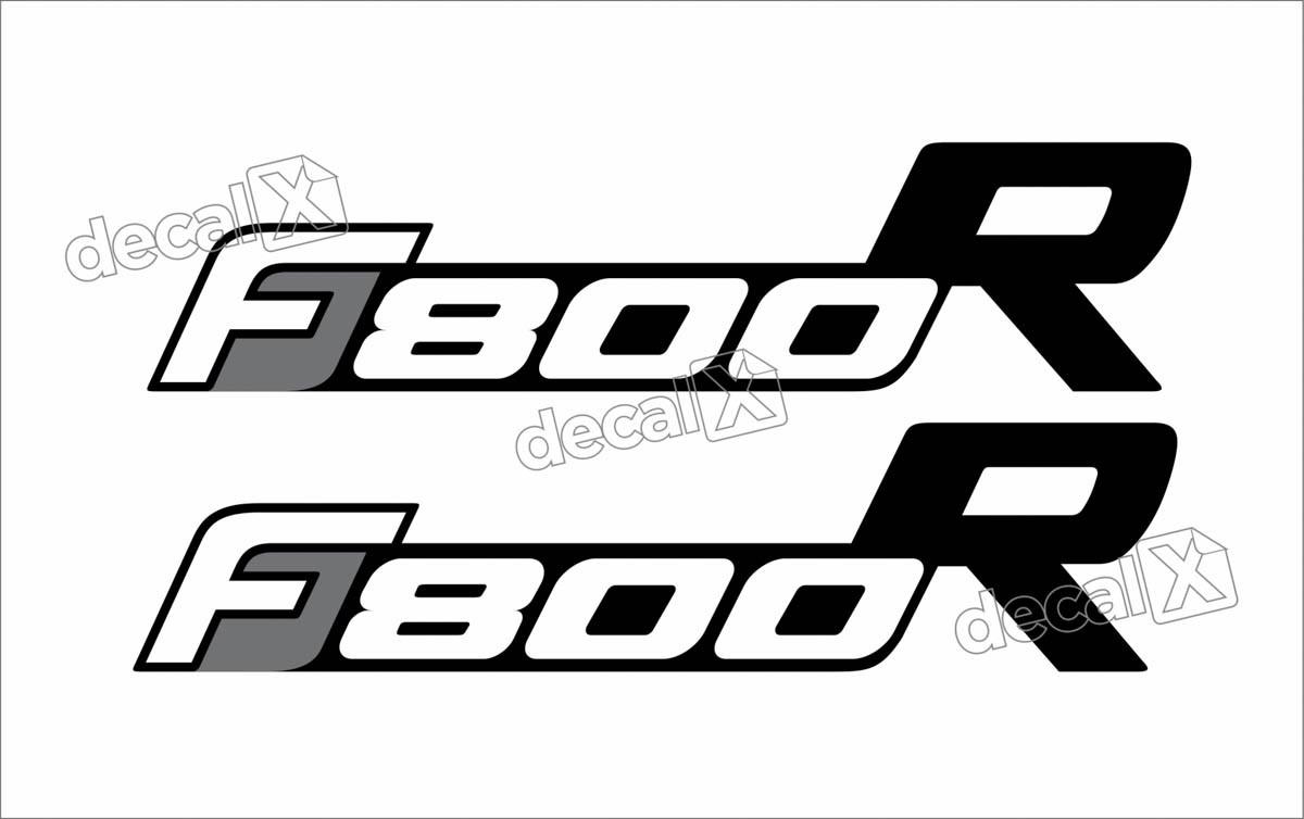 Kit Adesivo Emblema Bmw F800r Decalx