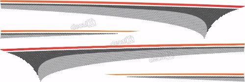 Kit Adesivo Faixa Chevrolet S10 Personalizado S10b05