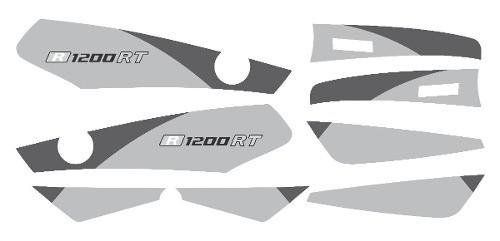 Kit Adesivo Faixas Bmw R1200rt Decalx