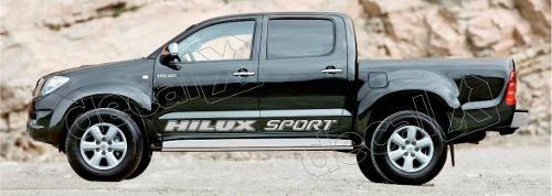 Kit Adesivo Faixas Laterais Toyota Hilux Sport Hlxspt2
