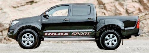 Kit Adesivo Faixas Laterais Toyota Hilux Sport Hlxspt3