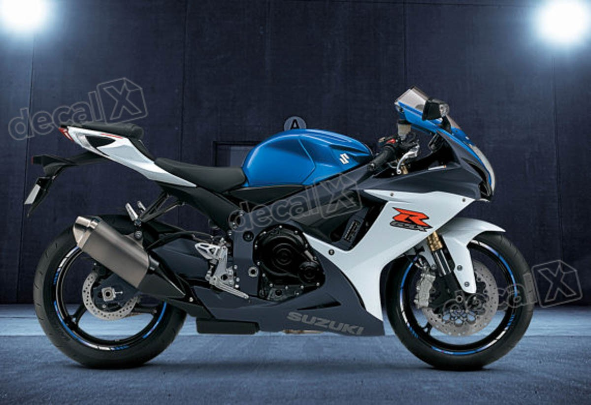 Patricia Valença Artesanato ~ Kit Adesivo Friso Refletivo Roda Moto Suzuki Gsxr 750 Fri48 Adesivos para motos& Adesivos