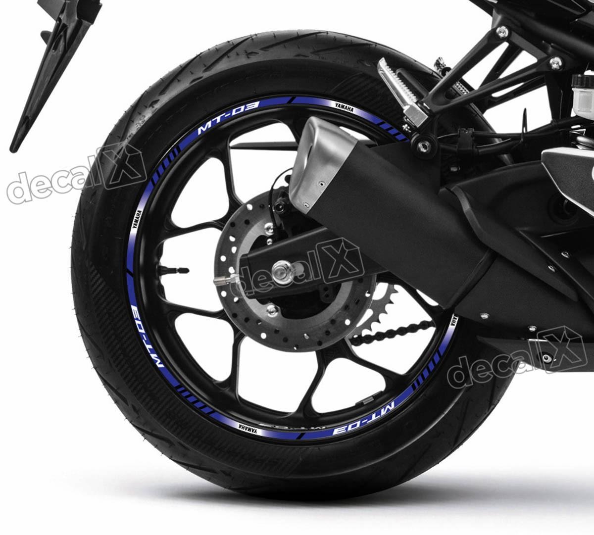 Armario De Parede Pequeno ~ Kit Adesivo Friso Refletivo Roda Moto Yamaha Mt 03 Fri49 Adesivos para motos& Adesivos