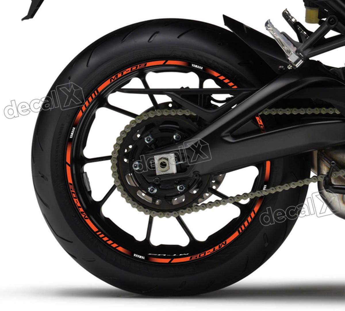 Armario De Parede Pequeno ~ Kit Adesivo Friso Refletivo Roda Moto Yamaha Mt 09 Fri53 Adesivos para motos& Adesivos