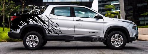 Kit Adesivo Lateral Fiat Toro Toro03