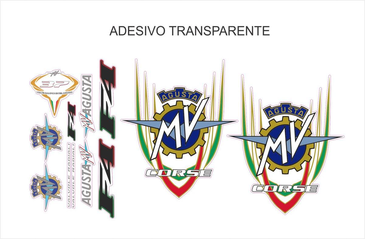 Kit Adesivo Mv Agusta F4 Ag024