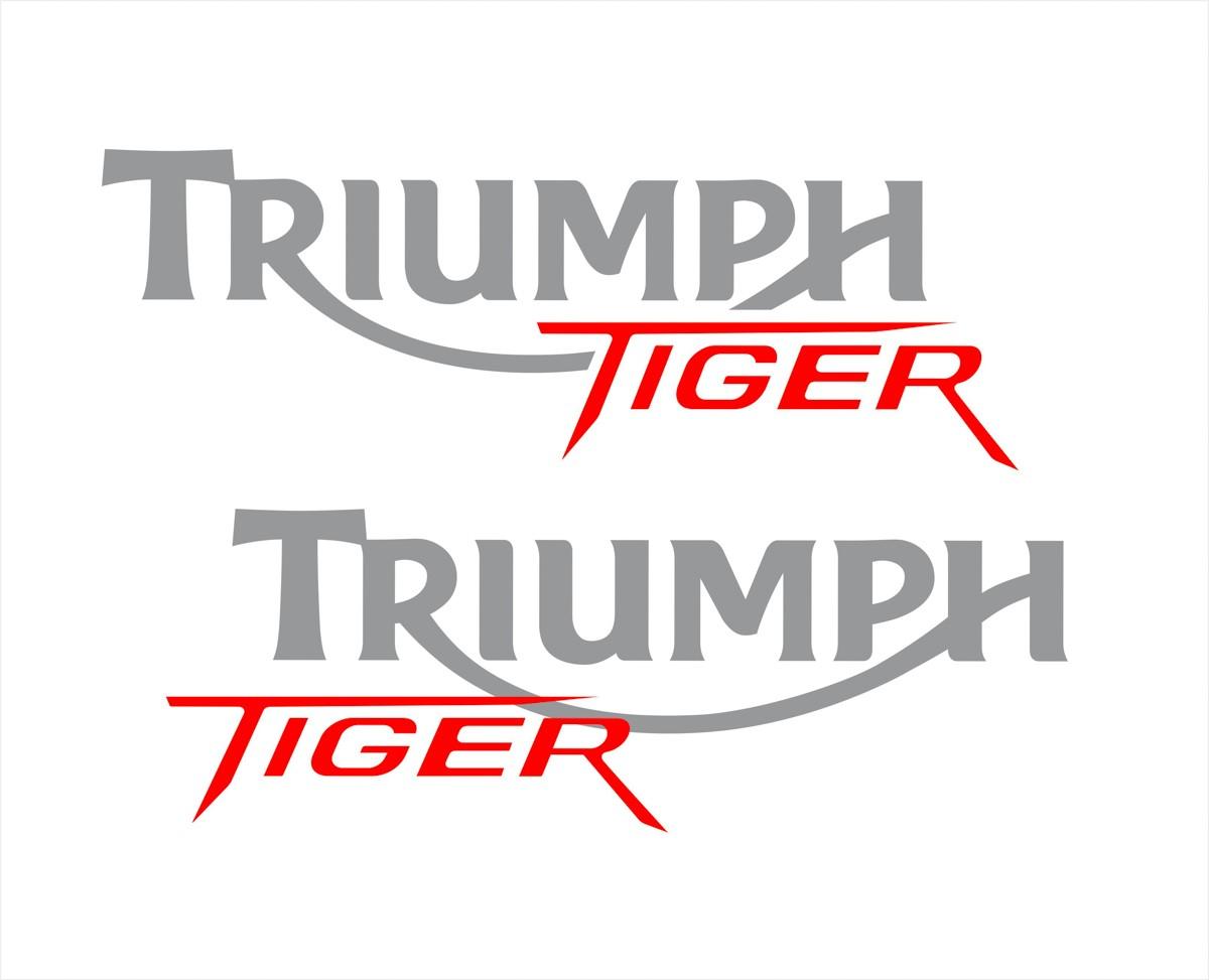 Kit Adesivo Triumph Tiger 800xc 800 Xc 2014 Preta Tg009