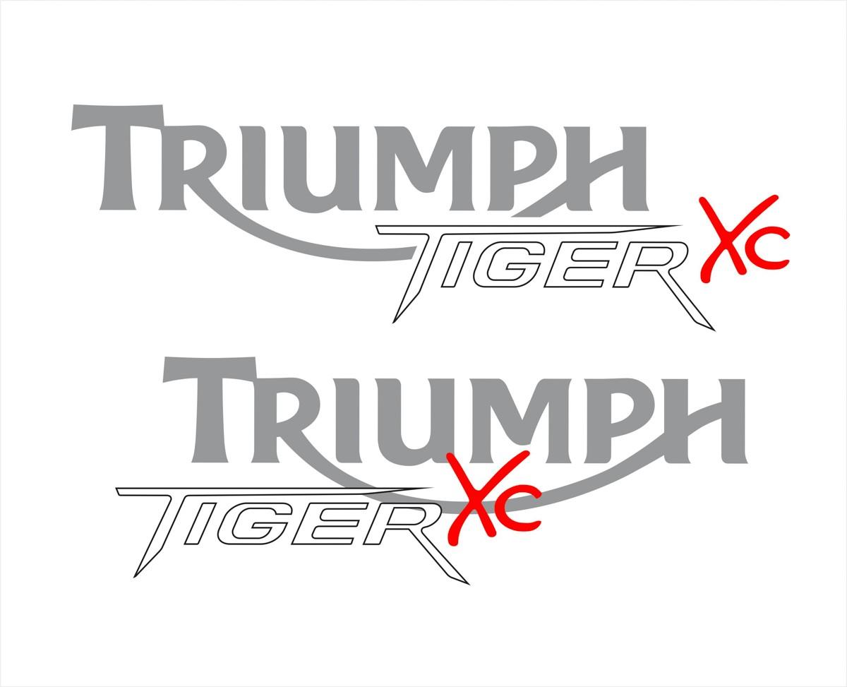 Kit Adesivo Triumph Tiger 800xc 800 Xc 2015 Preta Tg007