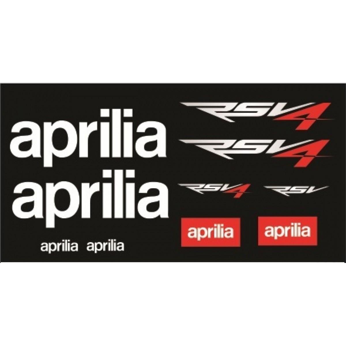 Kit Adesivos Aprilia Rsv4 Decalx