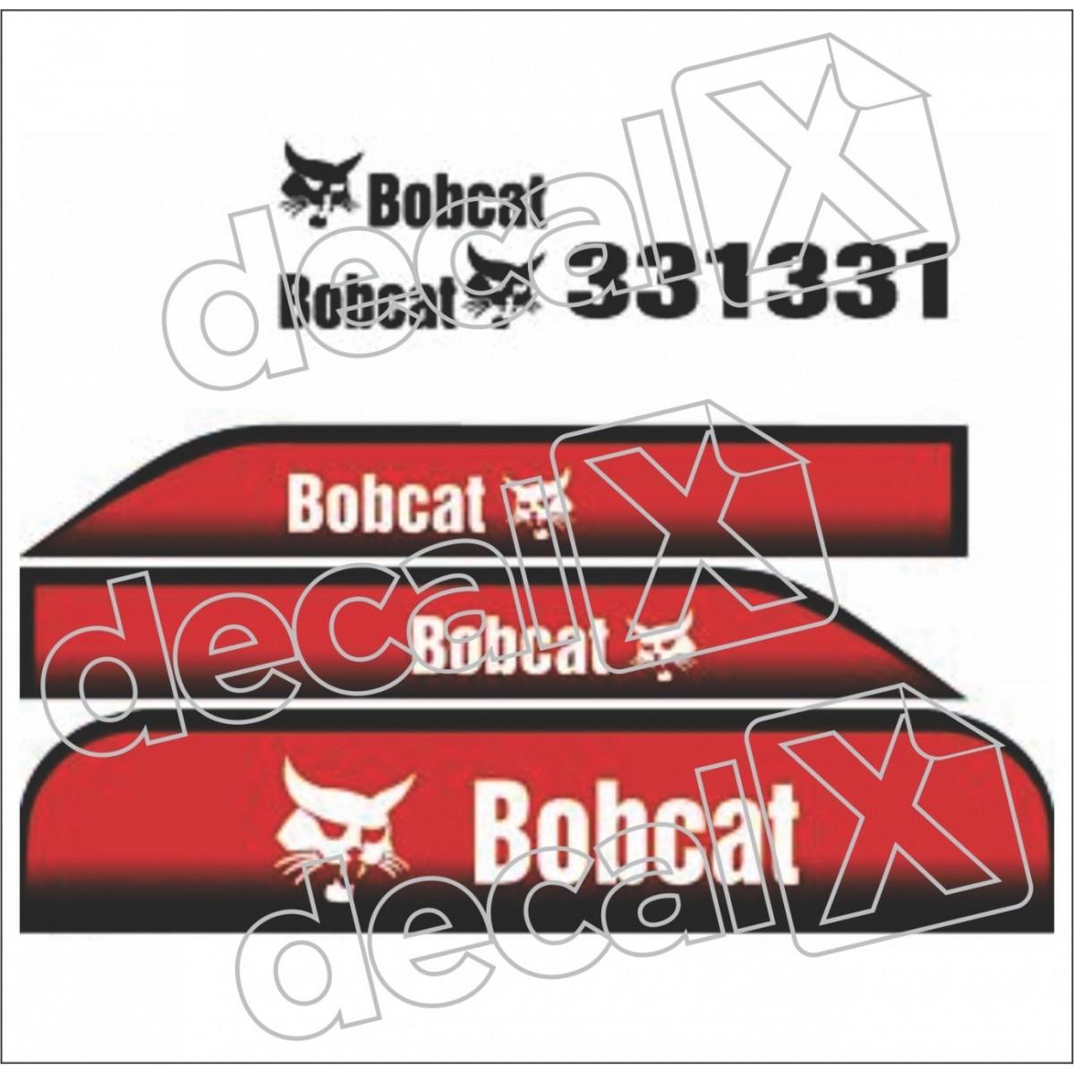 Kit Adesivos Bobcat 331 Decalx