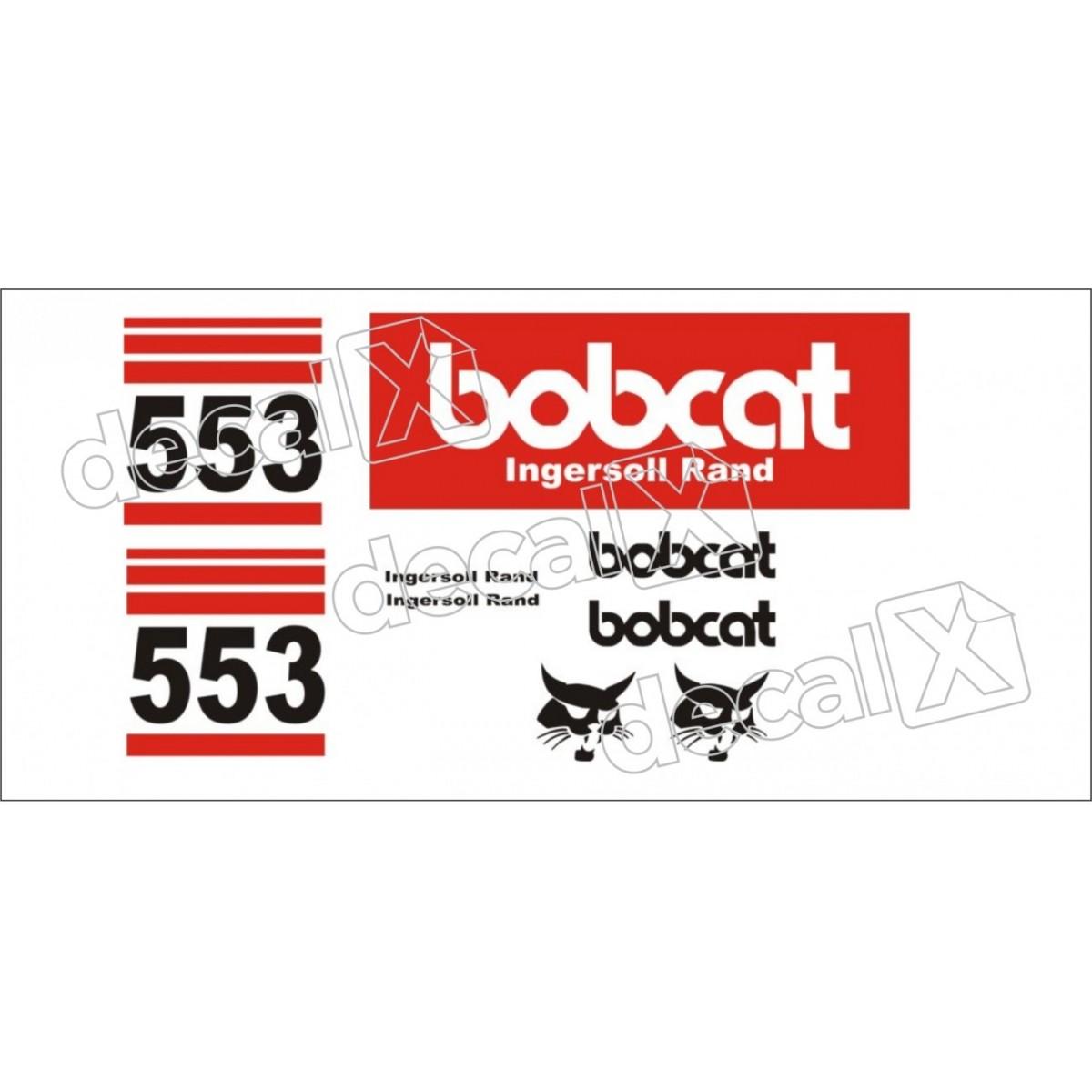 Kit Adesivos Bobcat 553 Decalx