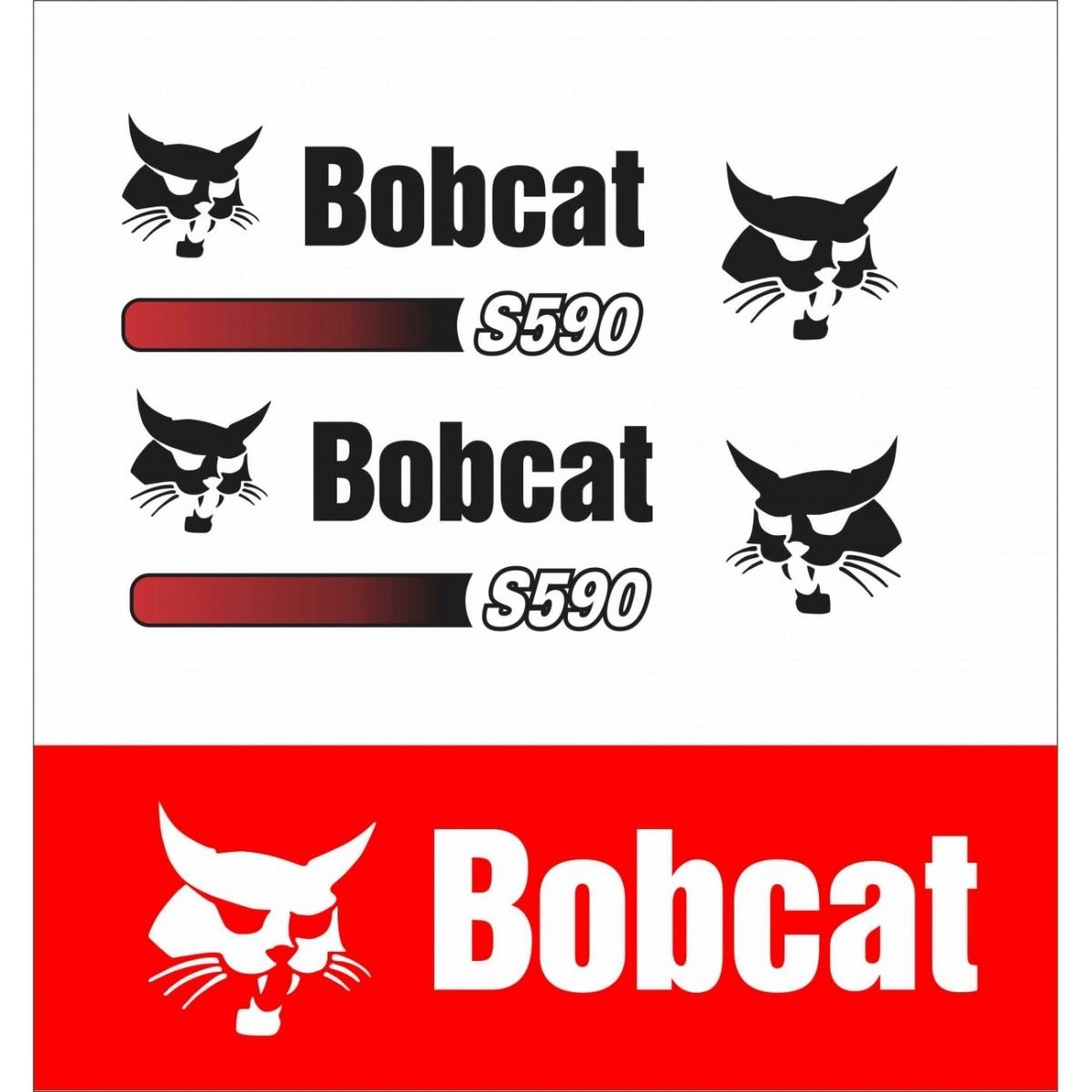 Kit Adesivos Bobcat S590 Decalx