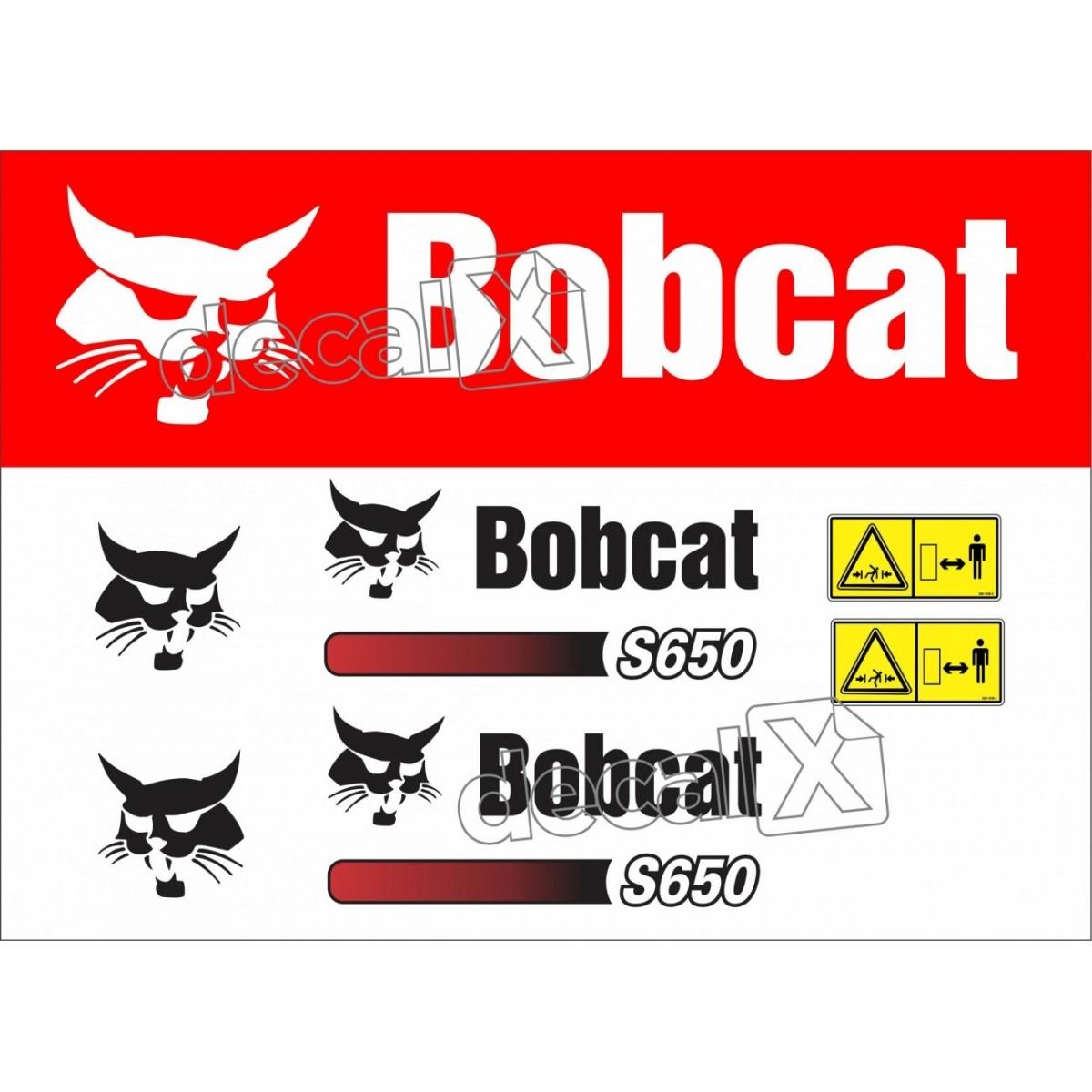 Kit Adesivos Bobcat S650 Decalx