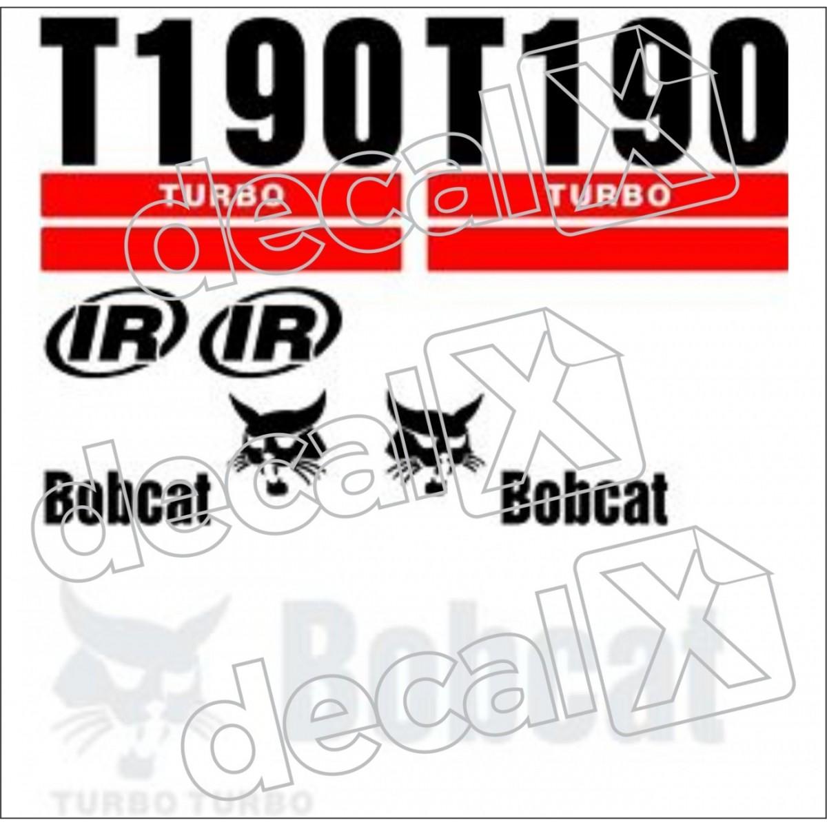 Kit Adesivos Bobcat T190 Decalx